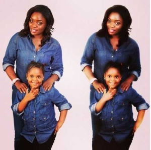 #BBNaija: Check Out These Adorable Photos Of Bisola And Her Daughter, Leyla